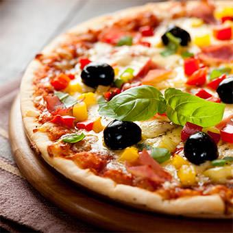 Pizzas siciliennes à Courbevoie